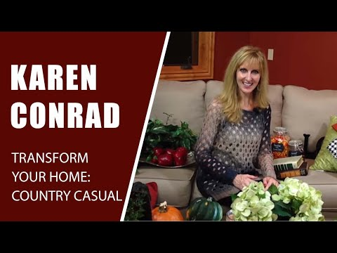 Transform Your Home!: Colorado - Part 4: Country Casual Living Room!