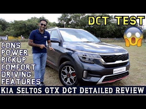 Kia Seltos GTX DCT Petrol Turbo Review, First Drive, Features, test Drive, First Impression, Pickup