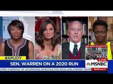 "Former DNC Chair Howard Dean On Warren Pres Run: ""My Generation Needs To Step Into A Coaching Role"""
