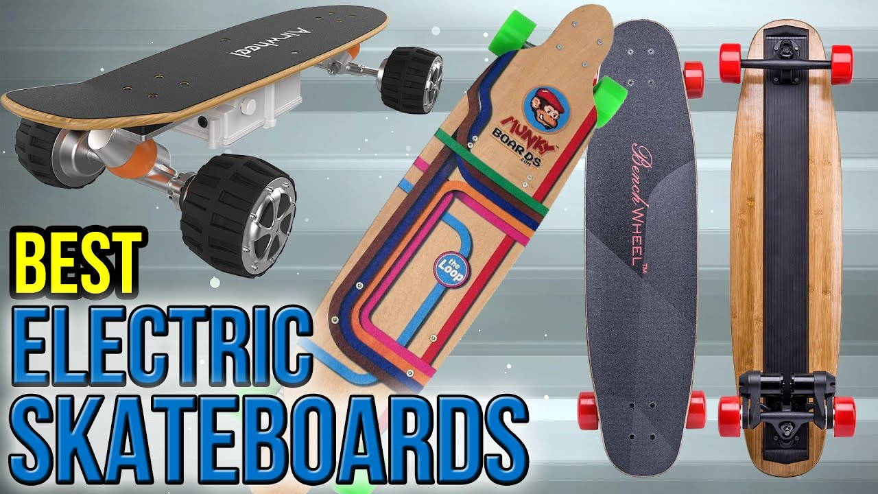 10 Best Electric Skateboards 2017  YouTube