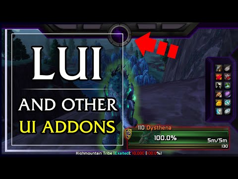 WoW LUI Setup - UI Addons for World of Warcraft (7.3.5)
