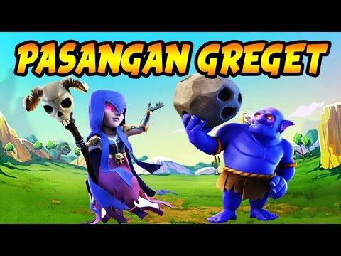 SERANGAN LIVE WAR DUET MAUT! COC INDONESIA