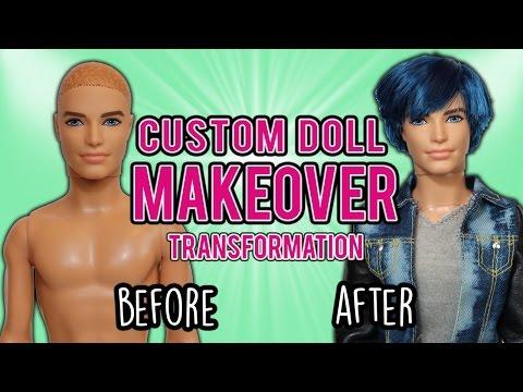 Barbie Custom Doll Makeover Transformation (#3: Ken)