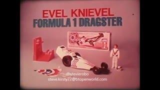 Формула Ивел Книвел 1 Іграшка Драгстер Комерційних 1975