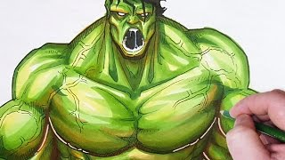 LET'S DRAW THE HULK!