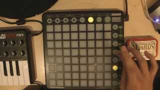 Launchpad User 1 Anfänger Tutorial Basics LED Feedback Metronom Deutsch |HD| ableton live 9 thumbnail