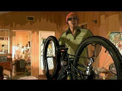 A Scanner Darkly - Bike Scene