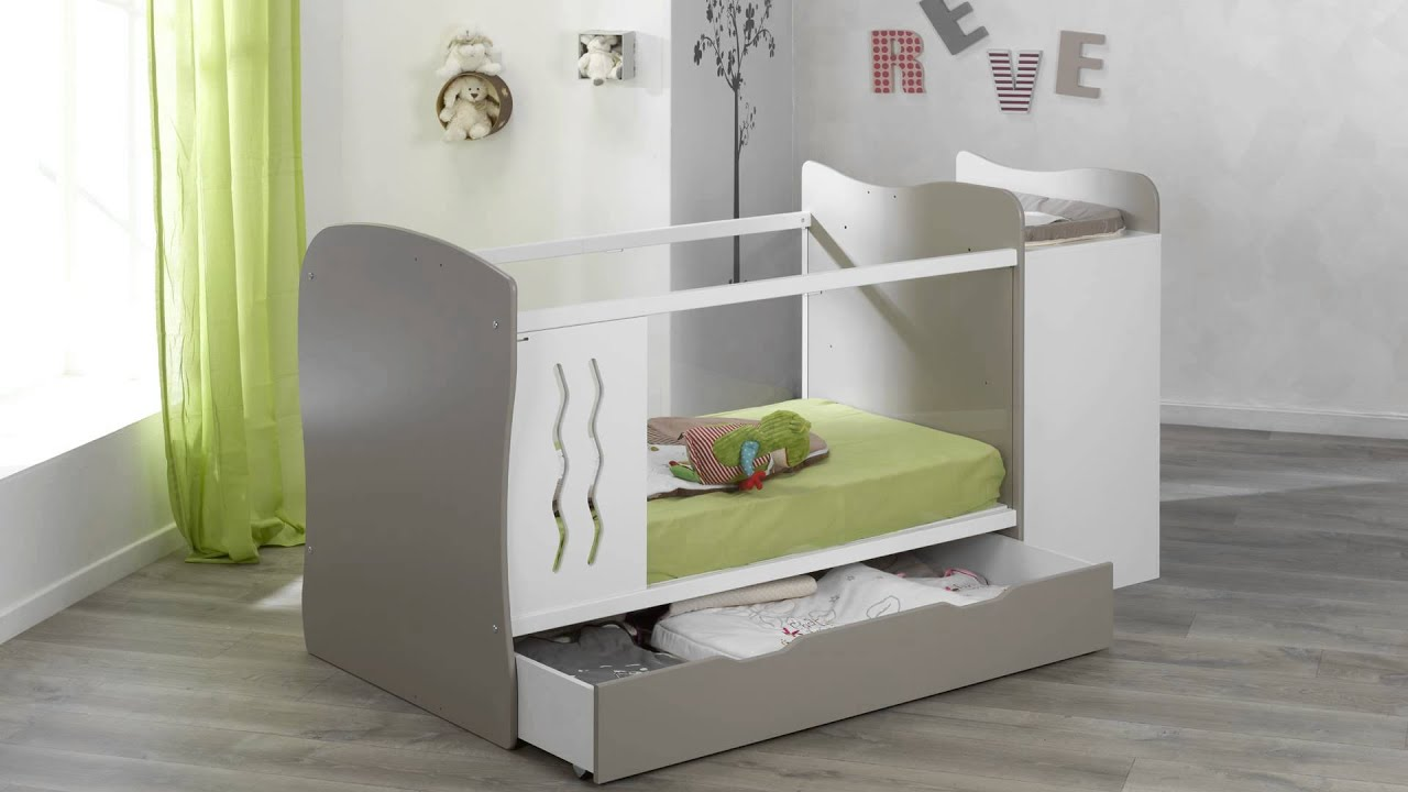 mitwachsendes babybett jooly youtube. Black Bedroom Furniture Sets. Home Design Ideas