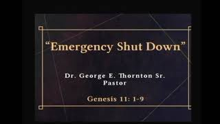"""Emergency Shut Down"" 8-29-20 Magazine St SDA Church"