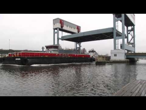 Rutgers St. Bridge Raised for Marine Traffic-Rare