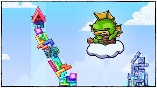 Моя ИДЕАЛЬНАЯ башня! Самые крутые раунды и угар в Tricky Towers