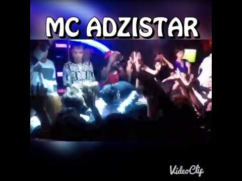 MC ADZISTAR on stage in China..... 2015