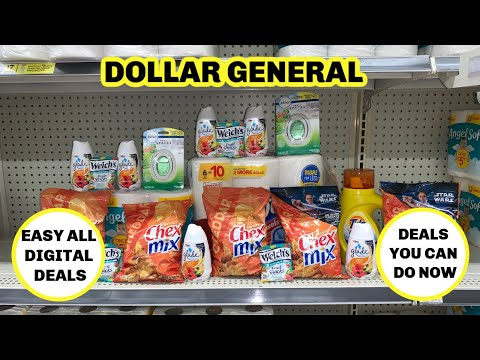 DOLLAR GENERAL/ DAILY DEALS /YOU CAN DO NOW/ ALL DIGITAL/ BUDGET BOSS COUPONS
