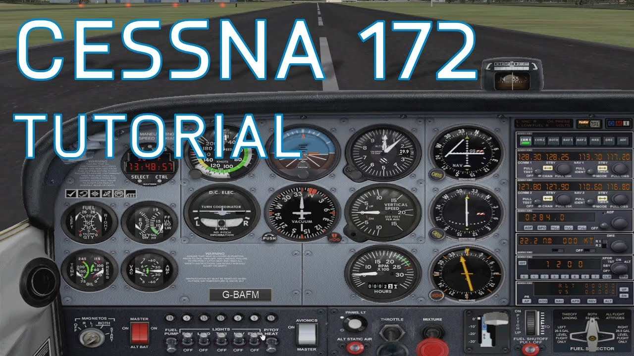 fsx cessna 172 tutorial start up basic guide youtube. Black Bedroom Furniture Sets. Home Design Ideas