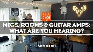 Amp Mic, Room Mic, Phone Mic & Different Rooms: What Are You Hearing? That Pedal Show
