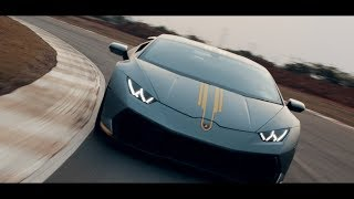 LOUD Lamborghini Huracan going all out on the Track | Bren Garage | Cinematic
