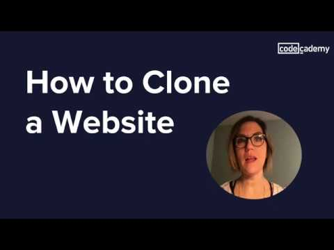 How To Clone A Website
