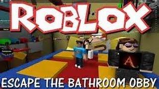 Roblox escape del baño parte 2