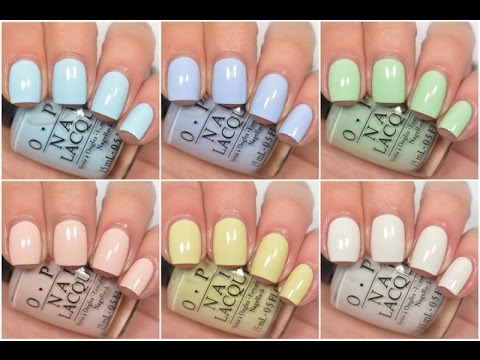 OPI - Soft Shades 2016 | Swatch and Review