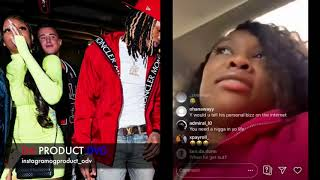 King Von Sister Accused Of SNITCHING After Almost Getting Shot Oblock...DA PRODUCT DVD