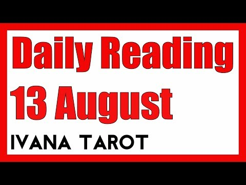 ❤️  A LOVE MATCH Daily Tarot Reading 13 August 2018