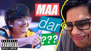 TEACHING @MortaL TO GIVE GAALI Feat. @CarryMinati