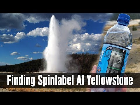 Stephen Key's SpinLabel Technology at Yellowstone National Park