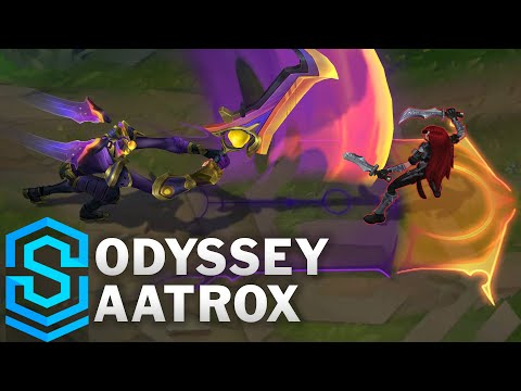 Odyssey Aatrox Skin Spotlight - Pre-Release - League of Legends