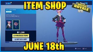 NEW Callisto and Asmodeus Skins! | FORTNITE ITEM SHOP TODAY! (June 18th, 2019)