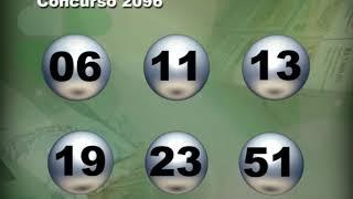 Resultado do concurso 2096 da Mega-Sena