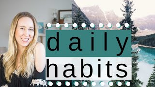 Healthy habits // daily to change your health & life tory stender