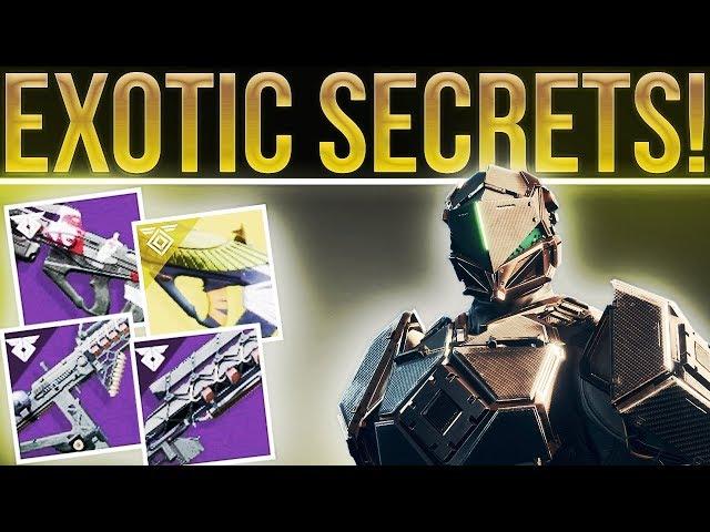 Destiny 2 Warmind. NEW DLC WEAPONS/ARMOR & NEW UNIQUE PERKS! Secret Exotic Masterwork Perks!