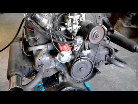 VW 1200 engine after full tune up