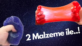 SADECE 2 MALZEME İLE SLİME YAPIMI-M.EYMEN TV