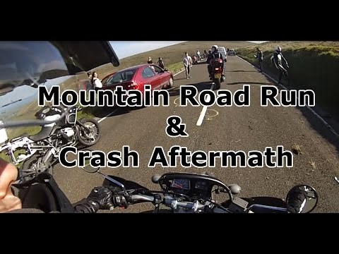 IOM TT 2015 - Mountain Road & Crash Aftermath!