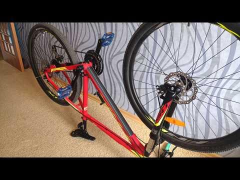 Защита рамы велосипеда!