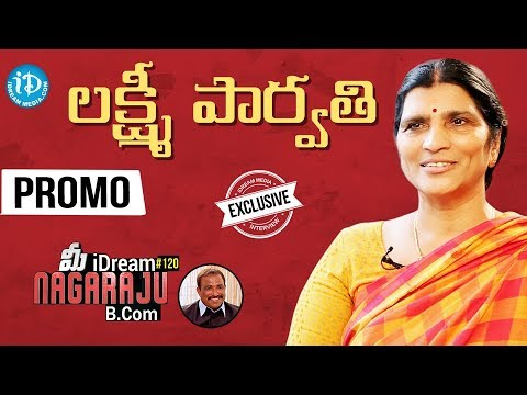 Lakshmi Parvathi Exclusive Interview || Talking Politics With iDream #259