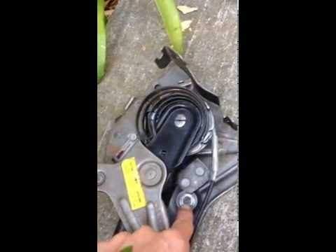 Parking (Emergency) Brake Assembly and Cable Removal - Dodge Caravan