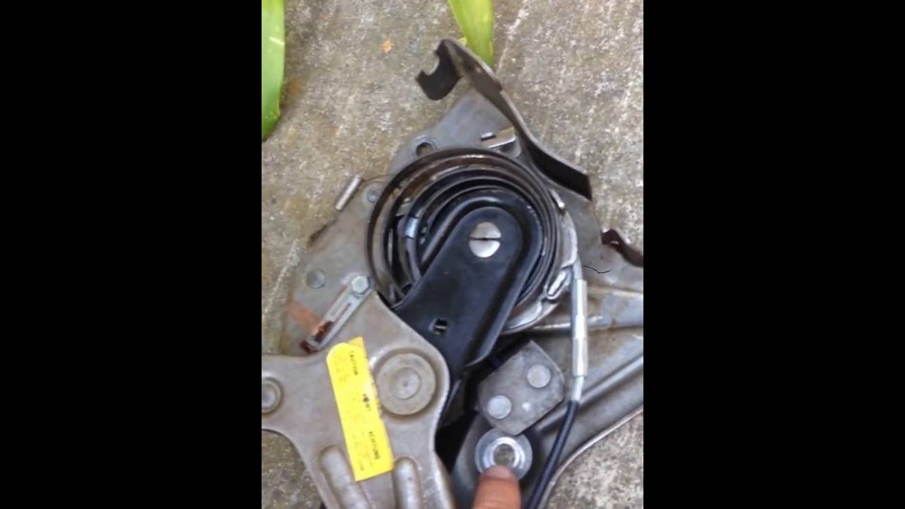 Parking  Emergency  Brake Assembly and Cable Removal