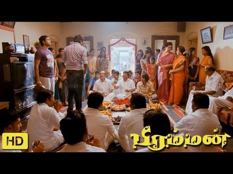 Bramman Tamil Movie   Scenes   M. Sasikumar Sister Engagement   Lavanya Tripathi   Santhanam