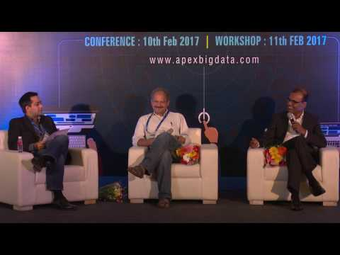 """Panel Discussion - """"Real-Time in the Real World"""" @ Apex Big Data World 2017, Pune"""