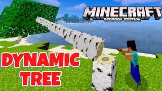 Minecraft PE: DYNAMIC TREE MOD For Minecraft Pocket Edition 1.16