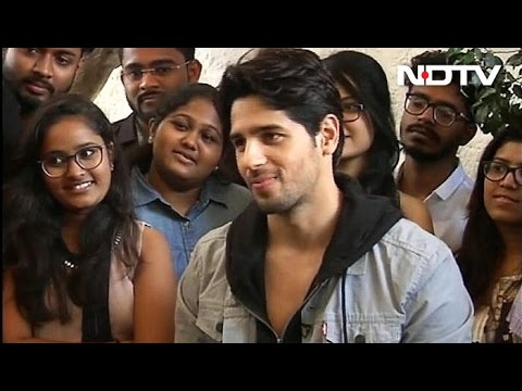 Sidharth Malhotra On Being An Introvert