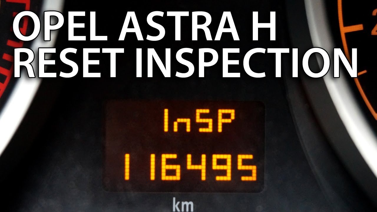 How to reset inspection in opel astra h vauxhall service oil youtube premium publicscrutiny Gallery
