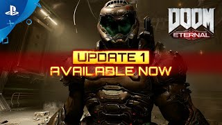 DOOM Eternal - Update 1 Available Now PS4