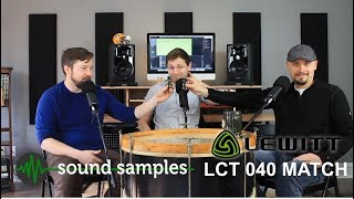 PPA Unfiltered: 28 Lewitt LCT-040 Match Sound Samples & First Impressions