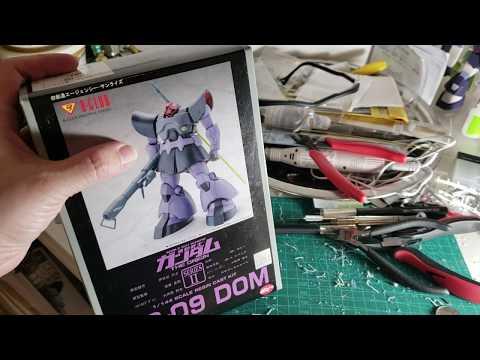 GUNDAM The Origin Resin Model Kit Unboxing