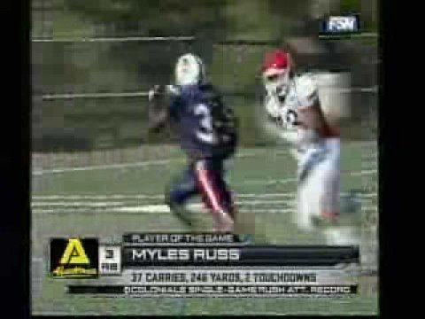 NEC Football: Duquesne-Robert Morris Highlights (10/11/08)