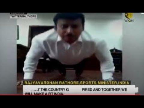 Rajyavardhan Singh Rathore's fitness challenge for Indians