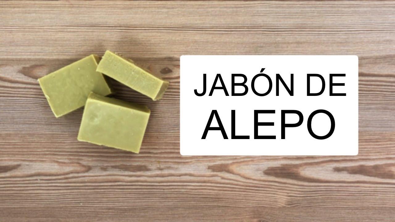 📌 Cómo hacer JABÓN de ALEPO CASERO 🧼